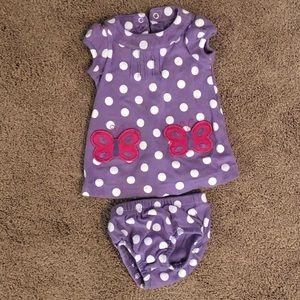 Carter's newborn dress and underpants